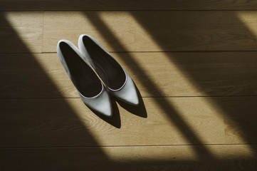 Chaussures et jeu d'ombre
