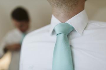 Cravatte turquoise