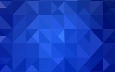 Light BLUE vector template with gradient triangles.