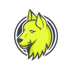 Cat vector mascot logotype sport head animal illustration emblem isolated