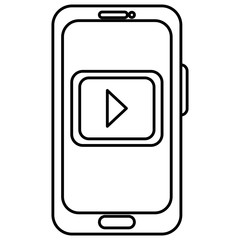 smartphone device with media player