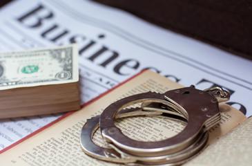 Illegal drug business, money and drug