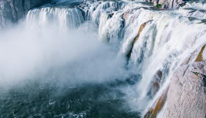 Shoshone waterfall in Twin falls, Idaho