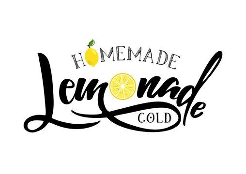 lemonade lettering sign