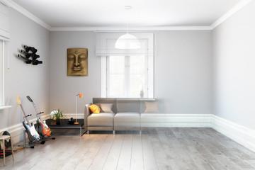 Sofa im Wohnzimmer (Vision)