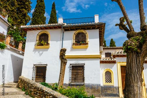 traditional arabic architecture of Andalusia, Albaicin Moorish
