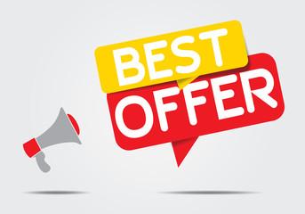 best offer concept