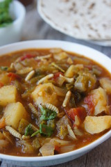New Mexican Green Chile Stew with Waxworms