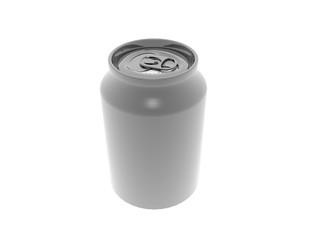 Silberne Getränke Dose