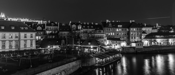 View from the Charles Bridge in Prague