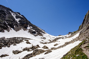 Alpi Svizzere Pizzo Cristallina e Capanna Cristallina
