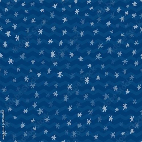 seamless pattern with animal cartoon flat labels print winter new year theme great design for