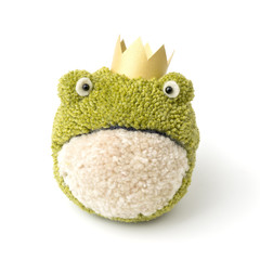 Pompon Frosch