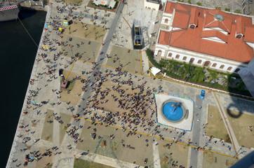 Olympic boulevard aerial view, Rio de Janeiro