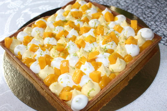 Tarte mangue