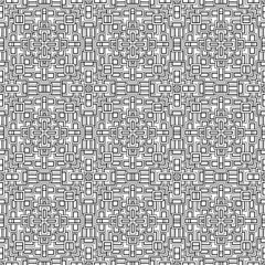 Abstract pattern for coloring doodle