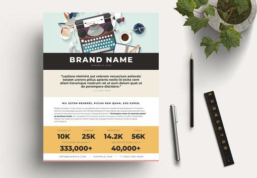 Write Stuff Media Kit Layouts
