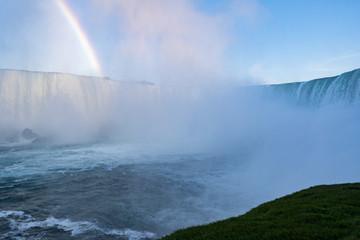 Niagara falls waterfalls view
