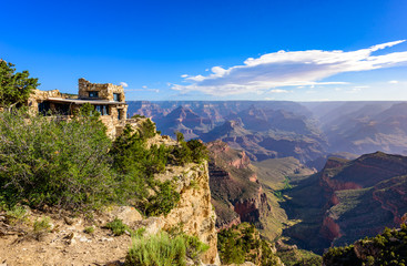 Amazing Landscape scenery at sunset from South Rim of Grand Canyon National Park, Arizona, United States