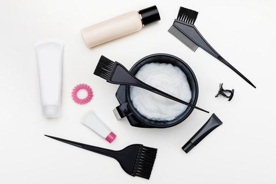 Tools for hair dye