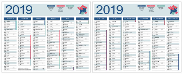 Photos Illustrations Et Videos De Calendrier 2019