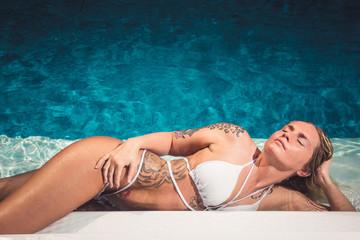 Summer Pool Girl