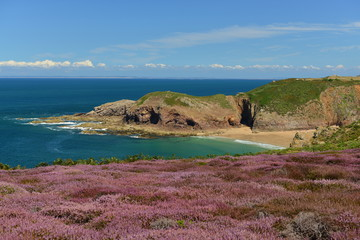 Plemont Bay, Jersey, U.K.