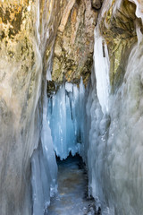 Ice cave on Lake Baikal