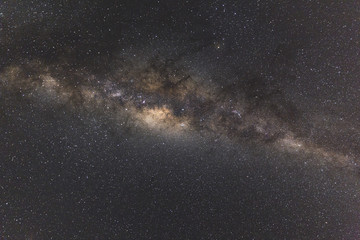 Stunning colorful image of Milky Way galaxy.