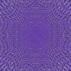 violet and lavender web knitted background frame with textile effect
