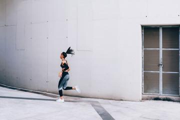 Sprinter woman.