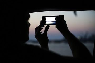 Amateur Photographer taking photo