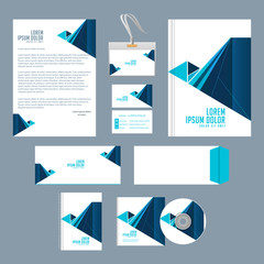 nice and creative office or corporate templates for business with nice and beautiful design illustration.