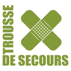 Logo trousse de premiers secours.