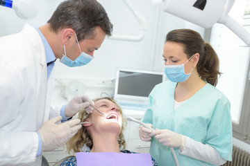 the dental appointment