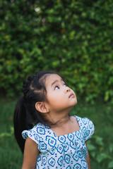 Portrait of Asian children