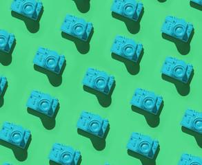 Analog cameras.