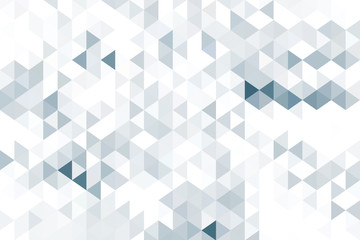 Black and white triangle shapes, geometric style background.