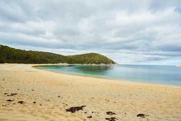 Refuge Cove from the Beach