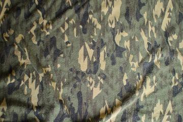 Fine Detail of Camo Fabric