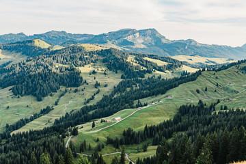 Beautiful Swiss Alpine Valley