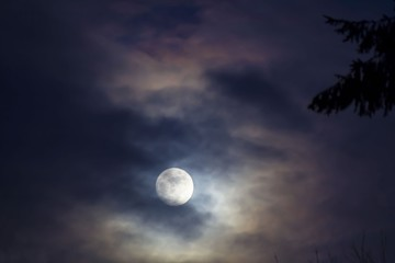 When the Moon Sets