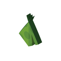 teepee isometric right top view 3D icon