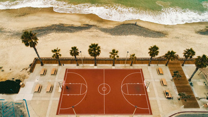 Perfect place for playing basketball
