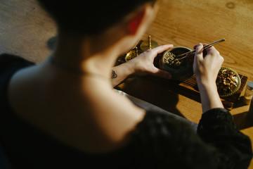 Kodo or incense ceremony