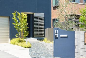 住宅 玄関アプローチ イメージ