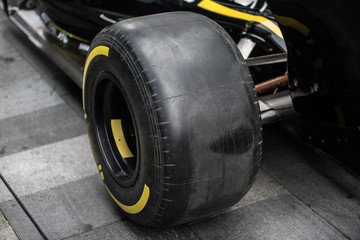 Racing car detail