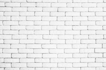 White brick wall Texture Design. Empty white brick Background for Presentations and Web Design. A Lot of Space for Text Composition art image, website, magazine or graphic for design.