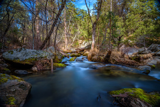 Bass Lake creek