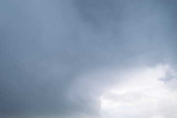 white clouds on blue sky. background texture